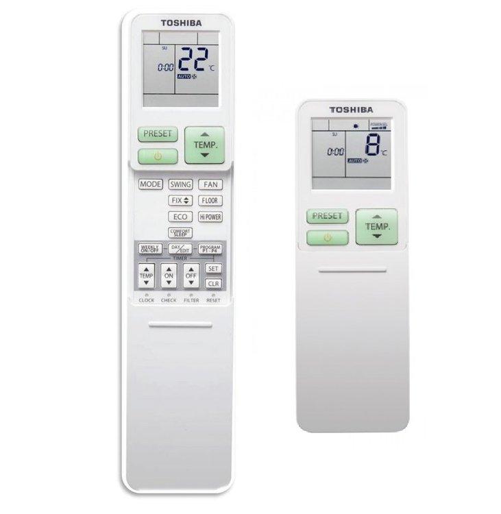 TOSHIBA Infračervené diaľkové ovládanie vrátane týždenného časovača RB -RXS31-E | Klimatizácia | m-plan s.r.o. - Vzduchotechnika a klimatizácia